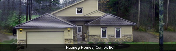 Nutmeg Homes, Comox BC, Vancouver Island Real Estate