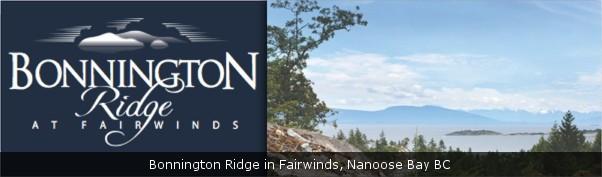 Bonnington Ridge at Fairwinds, Nanoose Bay BC