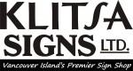 Klitsa Signs, vancouver island