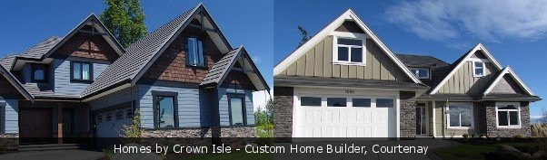 Custom built Home by Crown Isle