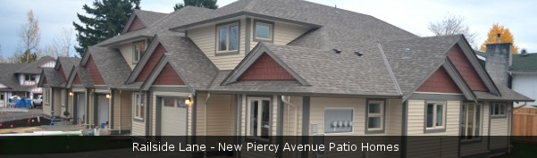 Railside Lane - New Piercy Avenue Patio Homes