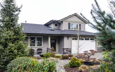 1254 Gardener Way in Comox on Vancouver Island offers West Coast inspired home