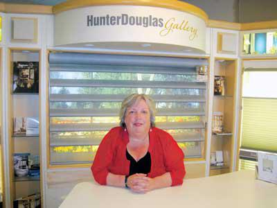 Owner of Blinds Bubbles Boutique, Tracey McGinnis, supports great community causes