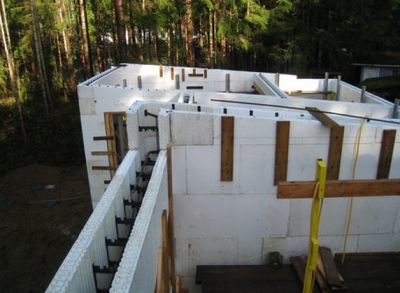 Icf construction blog tag for Icf foam block construction