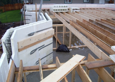 Building greener homes with icf and nutmeg homes blog post for Icf residential construction