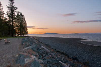 Qualicum Landing Beachfront Homes